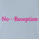 funny T-Mobile No Reception Parody light blue t-shirt