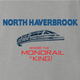 north haverbrook simpsons monorail ash grey t-shirt