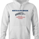 north haverbrook simpsons monorail white hoodie