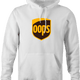 funny UPS Shipping parody hoodie white