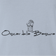 oscar de la renta the grouch sesame street light blue tee