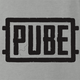 Pube PUBG multiplayer parody gaming women's ash t-shirt