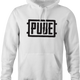 Pube PUBG multiplayer parody gaming navy t-shirt