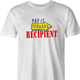 funny Pay It Forward Recipient Parody white men's t-shirt
