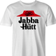 pizza hut jaba the hutt spaceballs parody men's white tee