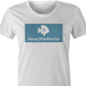 funny jewish humor - plenty of gefilte fish women's white t-shirt