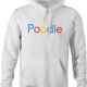 funny For People Who Love Poodles Google men's hoodie