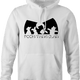 Funny winnie the pooh and friends wu-tang mashup hoodie