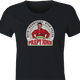 Funny internet meme papa john's pizza women's black t-shirt