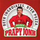 Funny internet meme papa john's pizza red t-shirt