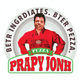 Funny internet meme papa john's pizza white t-shirt