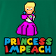 funny Donald Trump Impeached aka Princess Impeached Super Mario Mashup green t-shirt