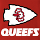 funny Kansas City Queefs Superbowl Champions Parody red t-shirt