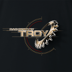The Offical Rad Rides by Troy Logo Men's T-Shirt | Cool Cars