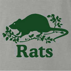 funny canadian roots parody - canada rats men's white t-shirt