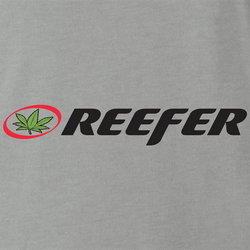 funnyReefer Weed Clothing Parody white men's t-shirt