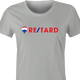 funny retarded t-shirt women's Ash Grey