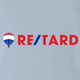 funny retarded light blue t-shirt