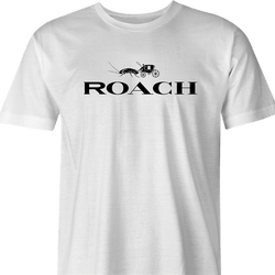 Funny Cockaroach Luxury Handbags Mashup Parody White Men's T-Shirt
