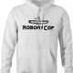 Funny Robocop Rowboat Mashup Golf white hoodie