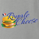 Royale With Cheese pulp fiction mcdonalds parody grey t-shirt