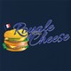 Royale With Cheese pulp fiction mcdonalds parody navy blue t-shirt