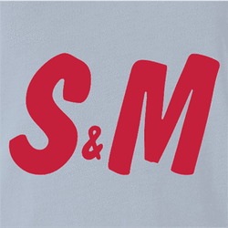 S&M H&M white t-shirt