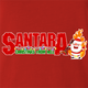funny Santa Clause meets Pantera Cowboys From Hell parody t-shirt red