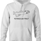 Funny jewish yiddish schmeckle hoodie white