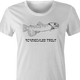 Funny jewish yiddish schmeckle t-shirt women's white