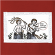 Funny self punishment painting red t-shirt