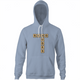 Funny send nudes scrabble t-shirt light blue hoodie