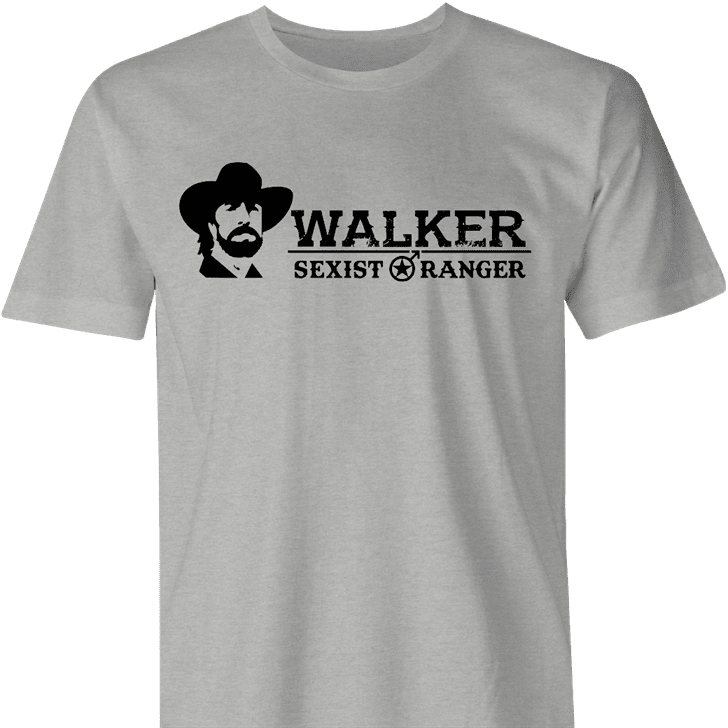 Funny Sexist Ranger Walker mashup men's t-shirt