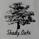 Shady Oaks Funny Tree Retirement home parody t-shirt grey