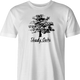 Shady Oaks Funny Tree Retirement home parody t-shirt men's white