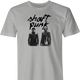 funy daft punk shaft mashup t-shirt men's ash