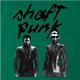 funy daft punk shaft mashup green t-shirt