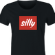 funny Silly Coffee Lover parody women's black