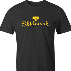 funny Dirty Skidmark Hallmark Mashup Parody men's t-shirt