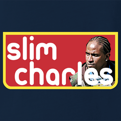 funny Slim Charles The Wire Slim Jim Mashup Parody men's t-shirt