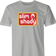 funny Slim Shady Eminem - Snap Into A Slim Jim Mashup men's t-shirt