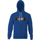 funny snicker You're not you when you're hungry offensive royal blue hoodie