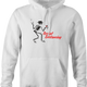 funny Social Distancing for COVID-19 Parody white hoodie