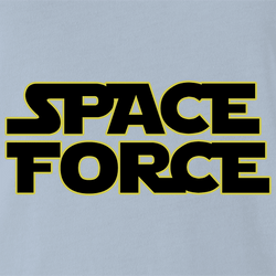 Funny Space Force Star Wars Star Trek Star Trek Parody White Men's T-Shirt