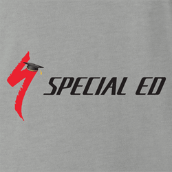 Funny Special Education Parody  t-shirt white