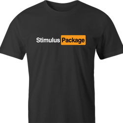 funny Stimulus package innuedndo Parody men's t-shirt