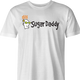 Funny Go Sugar Daddy  Parody White Men's T-Shirt