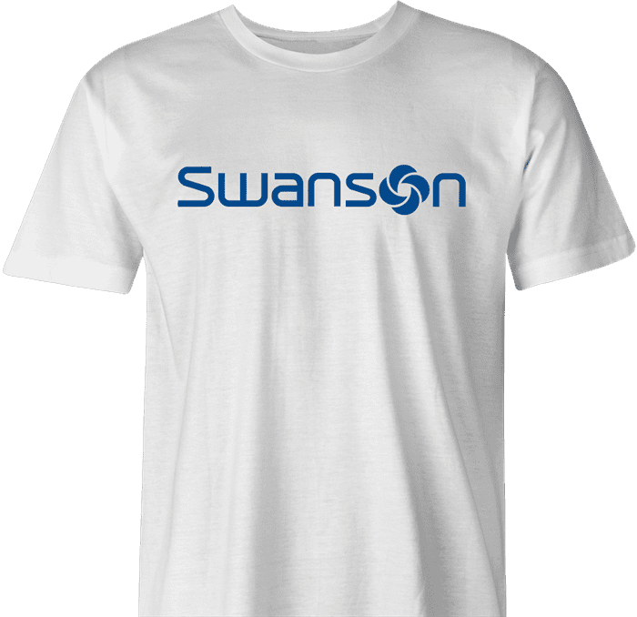 Swanson Samsonite Dumb and Dumber quote parody men's t-shirt