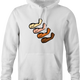 funny Forearms Four arms Play On Words Parody white hoodie
