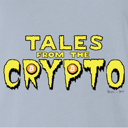 tales from the crypt crypto bitcoin men's green t-shirt
